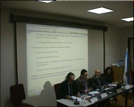 Eusebio Murillo Matilla. Coordinador Xeral de Política Rexional da Comisión Europea do programa de cooperación.